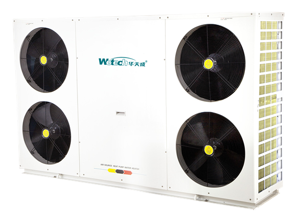 Wotech Low Temperature Heat Pump with EVI Technology in Winter Season