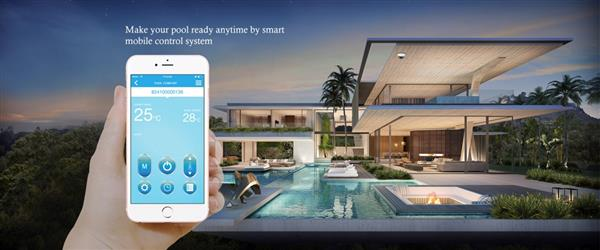 Wifi control of heat pump system